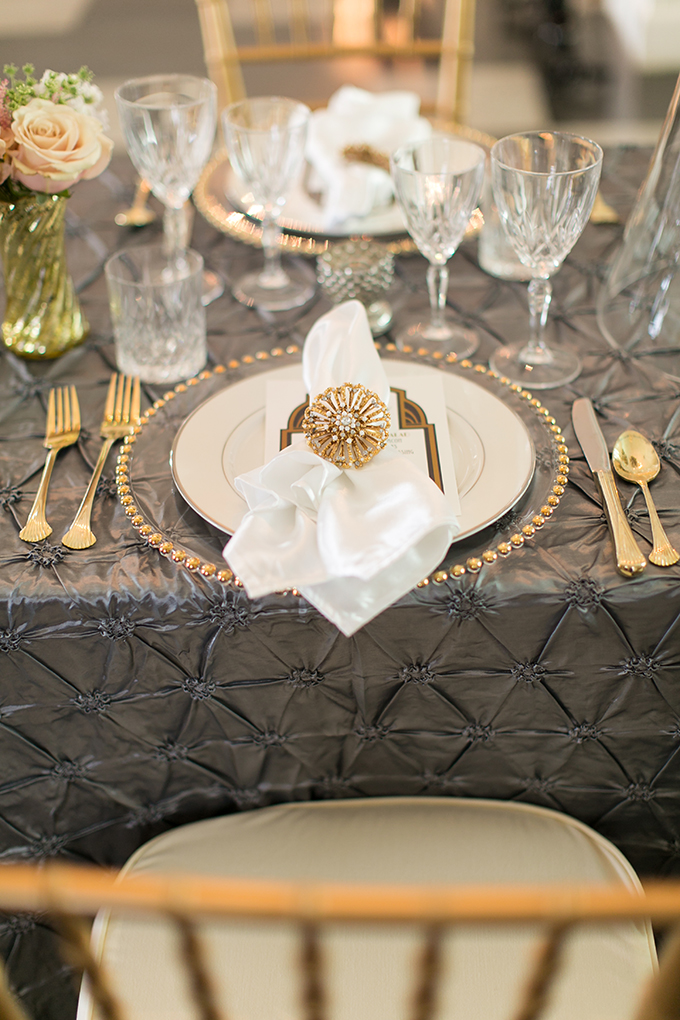 Art Deco Wedding Inspiration Glamour Amp Grace