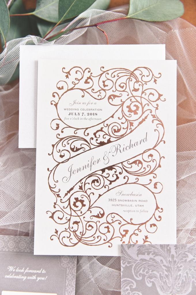 Wedding Paper Divas Invitations Glamour Grace 02