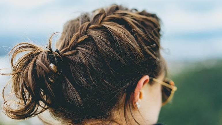 Wärmeluftbürste Frisur