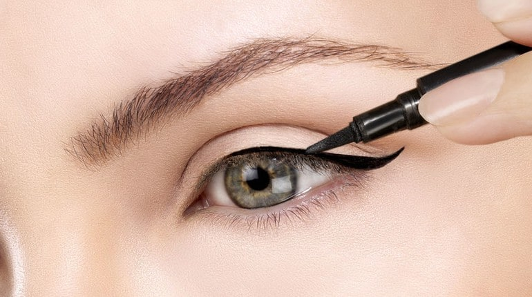 Eyeliner Frau