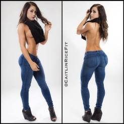 Caitlinricefit on Glamour Model Magazine