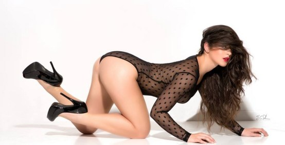 Playboy Miss Social Jessica Storie on Glamour Model Magazine