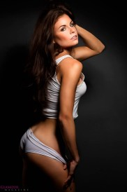 Stephanie D heating it up in the studio! Shot by Marin Photography NYC