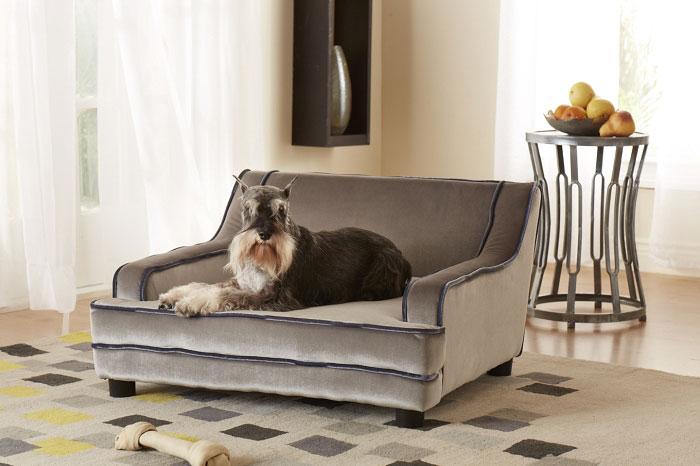 Mid Century Contempo Dog Sofa Designer Dog Beds At