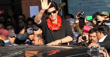 Bollywood Superstar Shahrukh Khan in Kathmandu