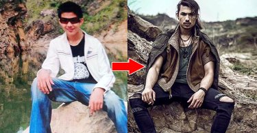 Anmol KC Picture | Before and NOW