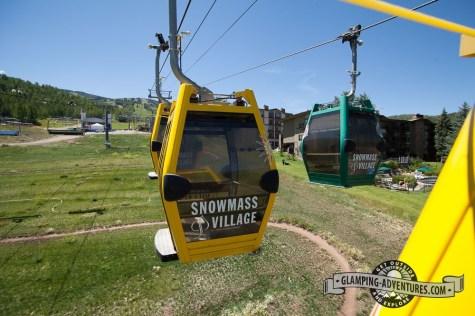 Snowmass gondola.