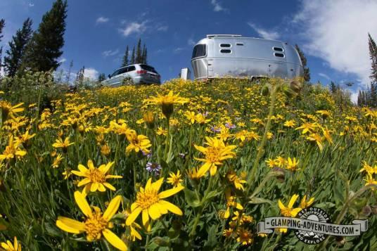 Beautiful site, Sugarloaf CG, Sugarloaf Rec. Area, WY.