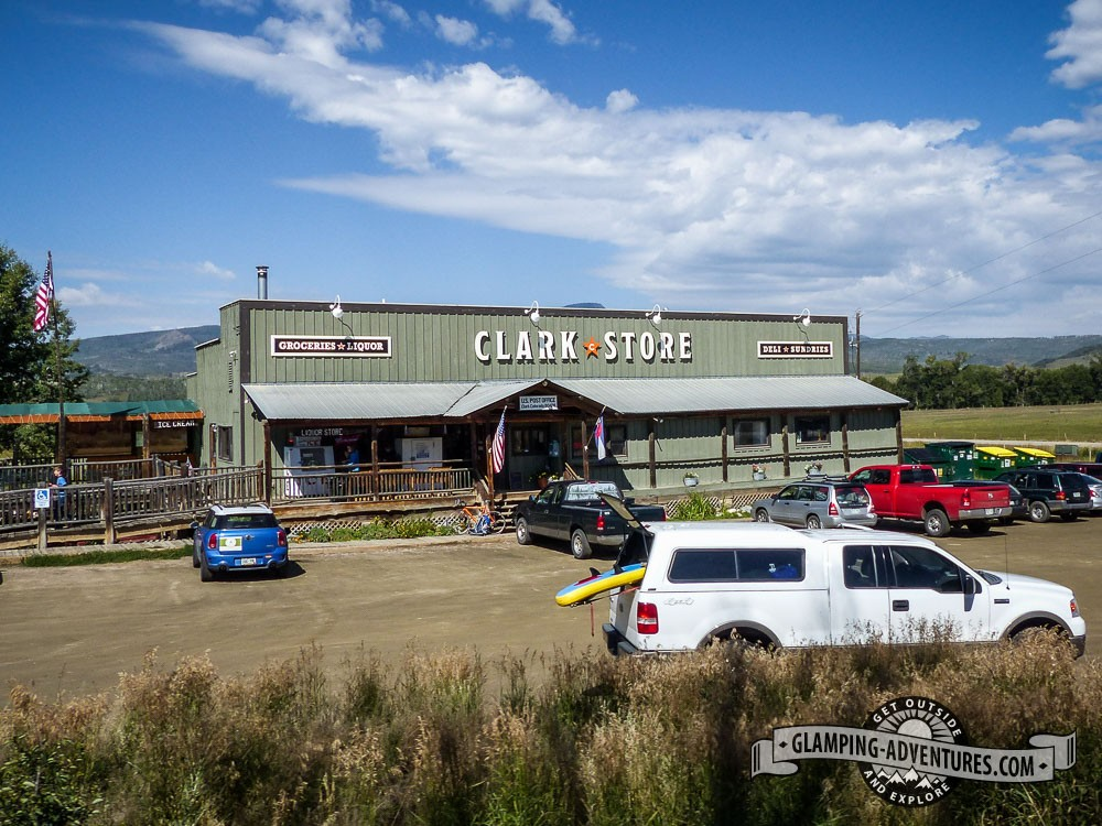 Stop in at the Clark Store! Clark, CO.