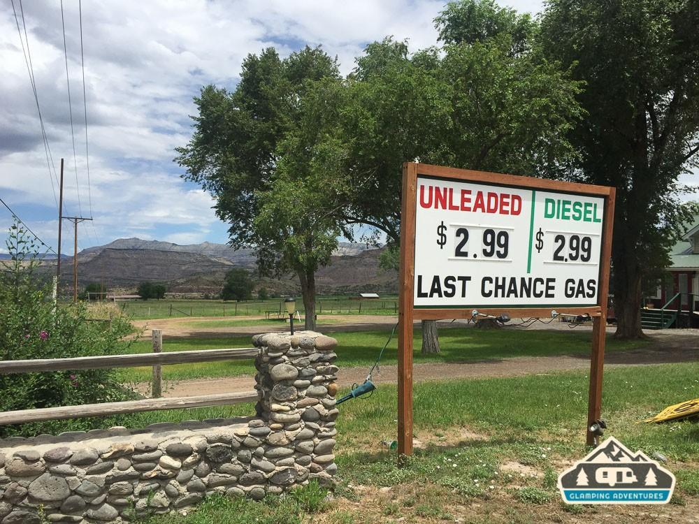 Last Chance Gas. Mesa CO.