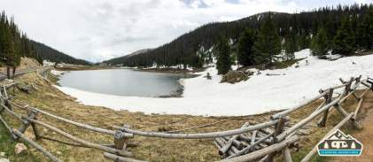 Still some snow up in RMNP.