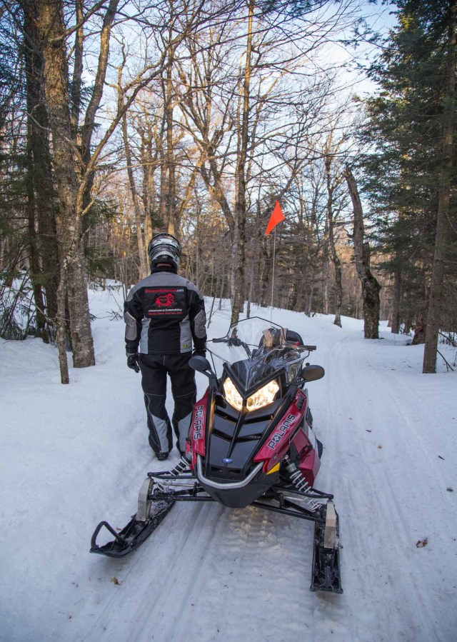 Glamping Blog News 8 Winter Activities Snowmobiling - Kristen Kellogg