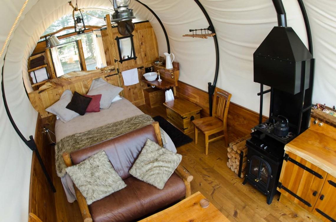 wagonstays luxury escape, canterbury, new zealand