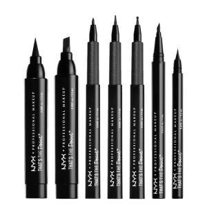 Recensione that's the point eyeliner nyx: 7 eyeliner per 7 stili diversi