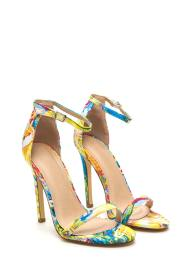 Skinny Feels Strappy Watercolor Heels