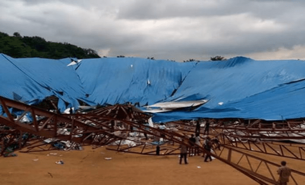 We Were Dancing When Church Building Collapsed – Survivor