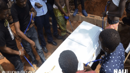 Naij.com's Photojournalist Yinka Adeparusi Laid to Rest