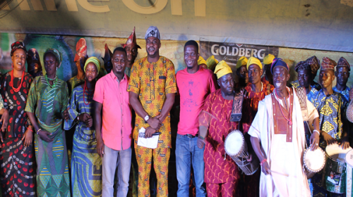 Photo: Five Finalists At The Goldberg Excellency Tour In Ilorin