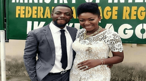 Photos: Yvonne Jegede And Abounce's Court Wedding