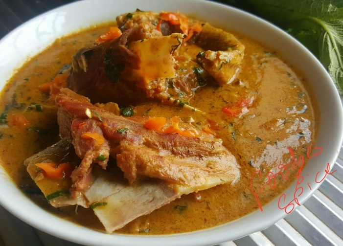 GT Food Talk: Groundnut Soup (Ofe Isawhe)