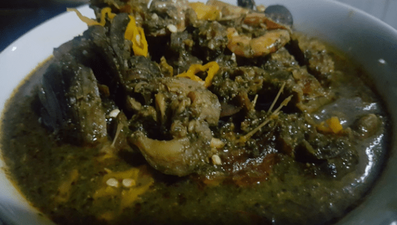 GT Food Talk: Mouth-watering Ofe Erurushin (Scent Leave Soup)