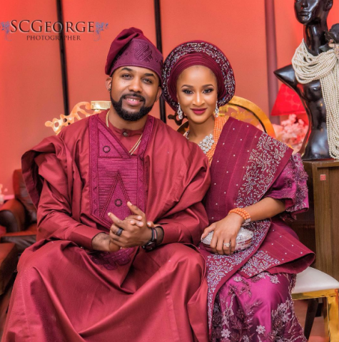 Banky W and Adesua's introduction 2