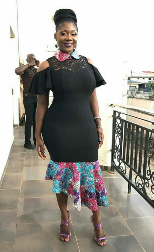 Mercy Johnson-Okojie's killer Ankara Dress