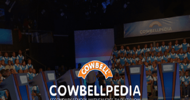 Cowbellpedia Maths TV Quiz Show