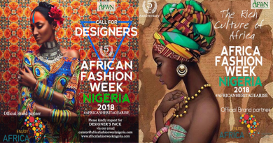 Africa Fashion Week Nigeria 2018