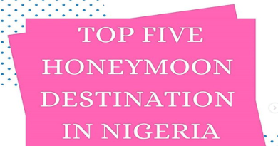 Honeymoon destinations in Nigeria