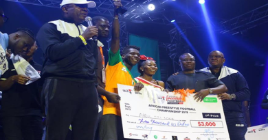 African Freestyle Football Champion