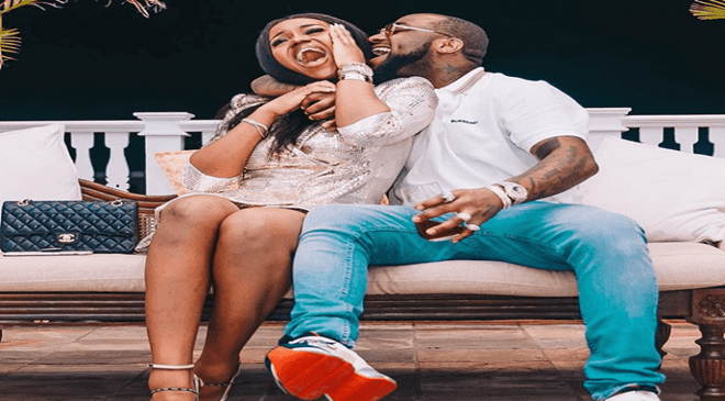 Davido and Chioma engaged