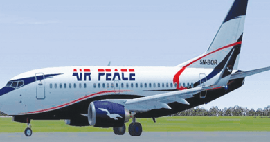 Air Peace Sacks Pilots