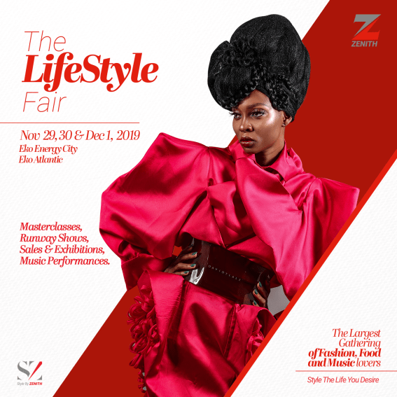 "Top global designers and brands will storm Lagos for the ""Style by Zenith 2.0"" Fair"