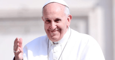 Pope Francis Condemns