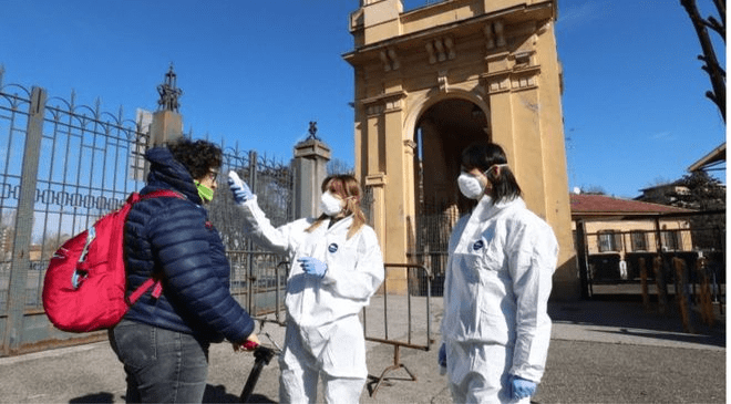Italy Quarantines