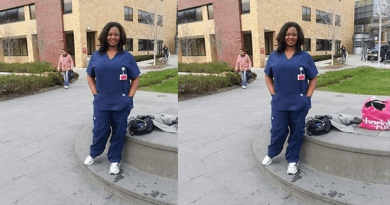 Nigerian Healthcare Worker