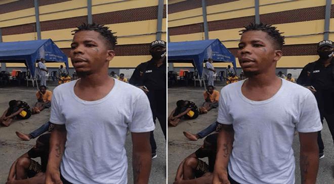 Confesses Robbery Suspect
