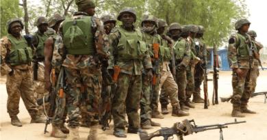 Nigerian Soldier