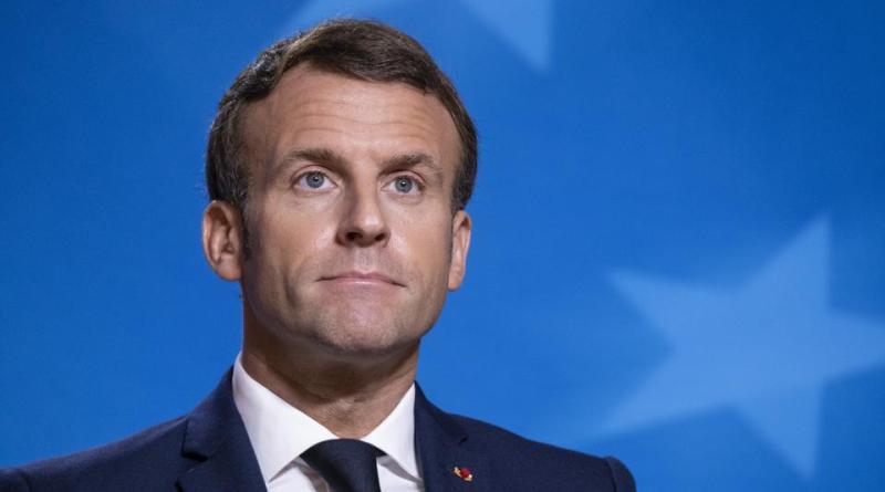 Macron Arrives N'djamena