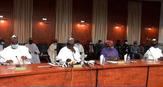 Northern Governors Hold Emergency Meeting, Call For Synergy Between FG, States Over #EndSARS