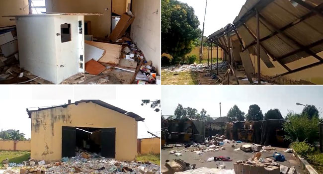 NAFDAC Office In Kaduna Attacked, Fake And Expired Drugs Carted Away By Residents