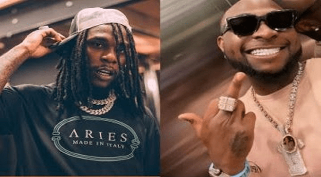 Fight Between Davido And Burna Boy