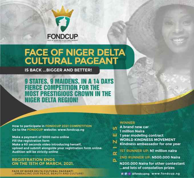 Face Of Niger Delta Cultural Pageant