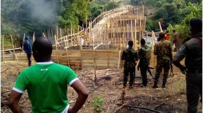 Bridge In Ogun Forest