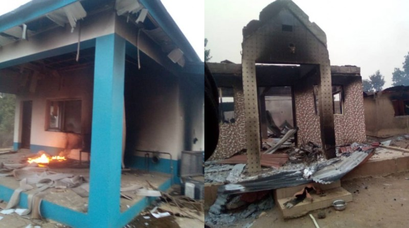 Photos: Angry Youths Set Ablaze Seriki Fulani's House, 11 Cars After Sunday Igboho's Visit