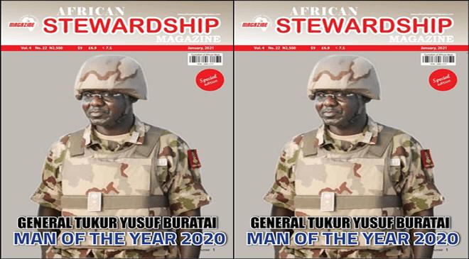 2020 African Steward Man