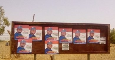 Yahaya Bello's 2023 Presidential Campaign Posters Sighted In Adamawa