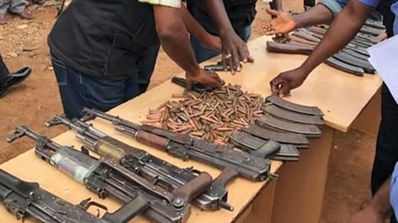 AK-47 riffles