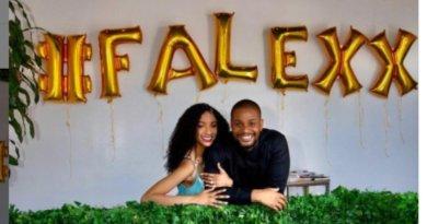 Actor Alex Ekubo And Longtime Girlfriend, Fancy Acholonu Are Engaged